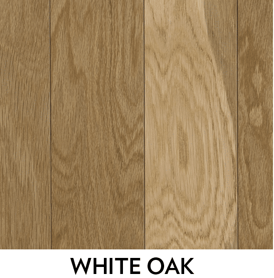 white oak hardwood species