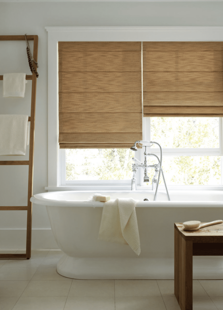 best bathroom window treatments